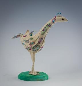 Dawn Rogal - teal bird