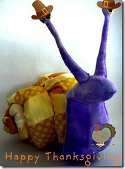thanksgiving snail