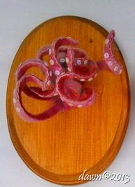 tentacles 5x7x4 fiber 2013 $40