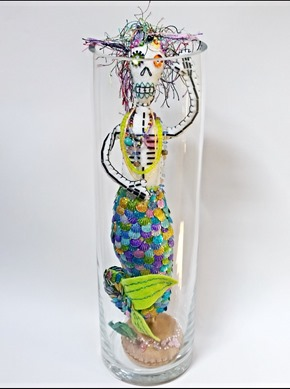 Day of the Dead Mermaid